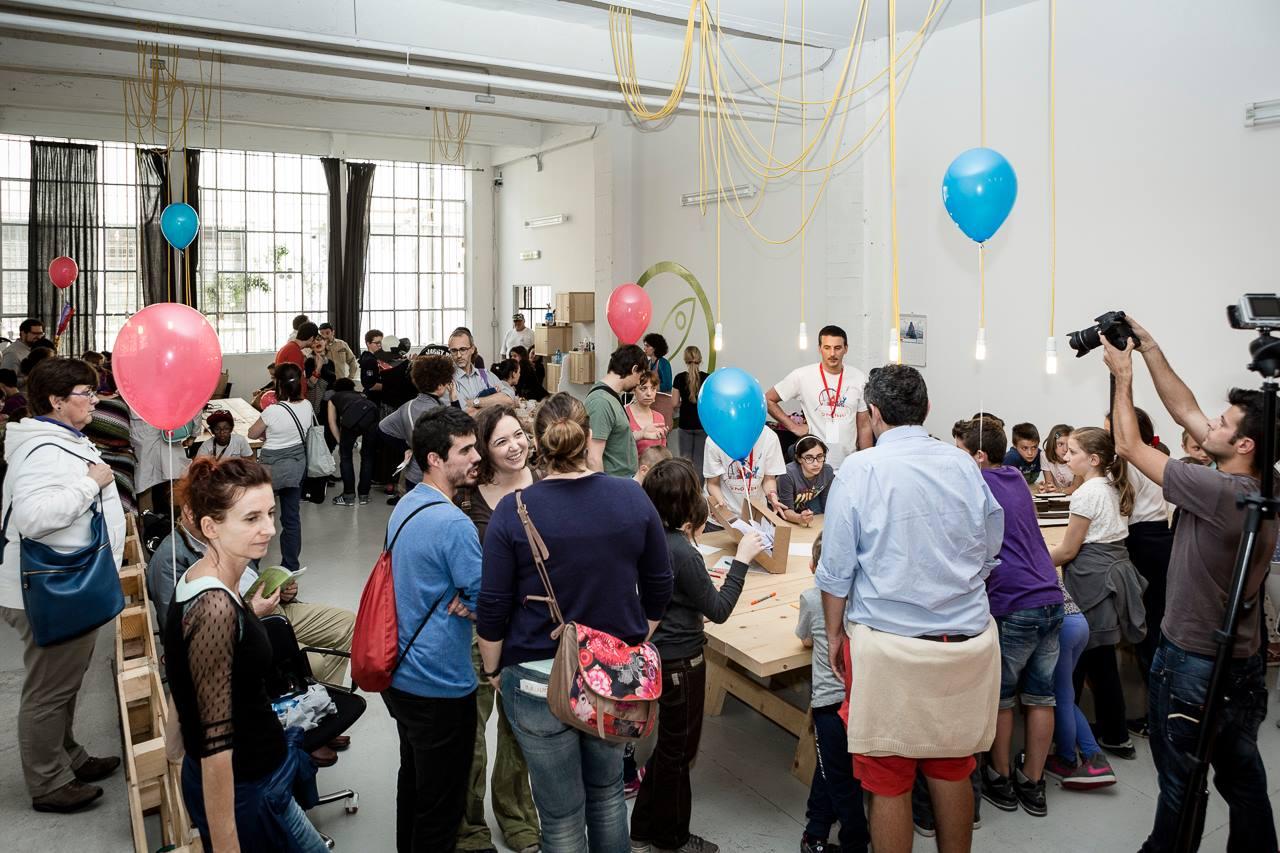 toolbox coworking - mini maker faire - attività per bambini